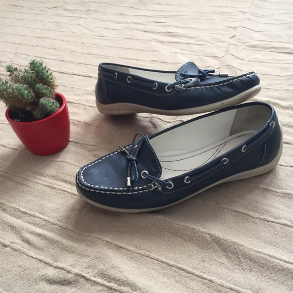 Geox Shoes - EUC GEOX Real Leather Loafers
